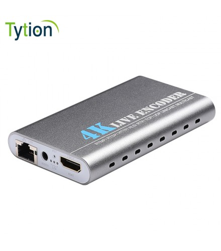 Tytion Ki H.264/H265 4K*2K @30 live HDMI Encoder Professional 4K Audio and Video Encoding
